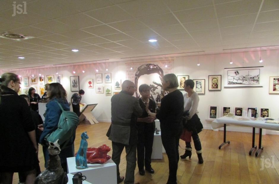 Vernissage exposition de l'Atelier du Coin de Montceau-les-Mines